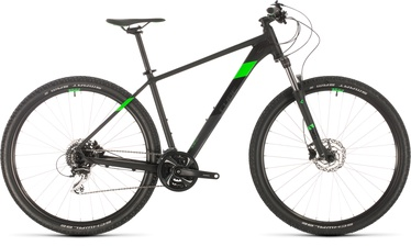 "Cube Aim Race 21"" 29"" Black Flashgreen 20"