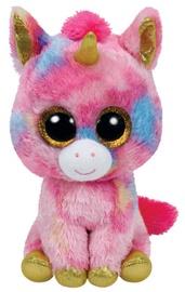 Mīkstā rotaļlieta TY Beanie Boos Unicorn Fantasia Multicolor, 24 cm