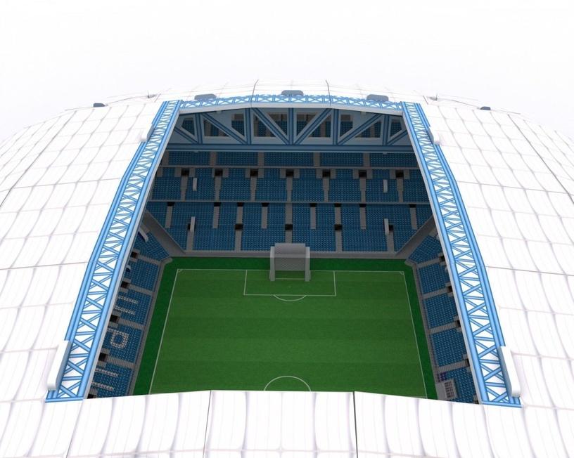 3D mīkla Cubicfun Lech Poznan Stadium 3D, 97 gab.