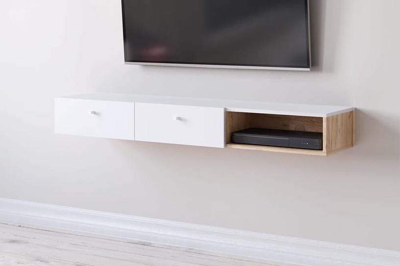 Dzīvojamās istabas mēbeļu komplekts Vivaldi Meble Tulia Oak/White