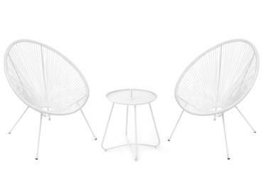 4living Acapulco Garden Furniture Set White