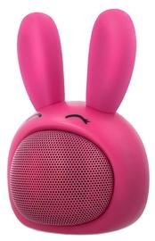 Bezvadu skaļrunis Forever ABS-100 Pinky Pink, 3 W