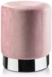 Pufs Mondex Renne 002GTZ, rozā, 30 cm x 30 cm x 36 cm
