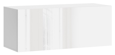 Vivaldi Meble Vivo 01 Wall Shelf With LED White/White Gloss