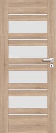 Полотно межкомнатной двери PerfectDoor EVIA 01, дубовый, 203.5 см x 84.4 см x 4 см