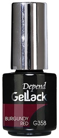 Depend GelLack Burgundy Red 5ml