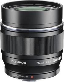 Objektīvs Olympus 75mm F1.8 M.Zuiko Digital ED Black, 305 g