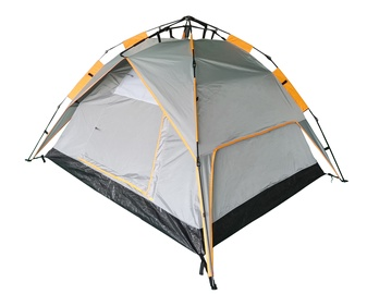 3-местная палатка O.E.Camp RD-AT03-3 RD-AT03-3, oранжевый/серый