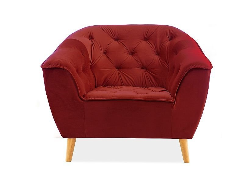 Atzveltnes krēsls Signal Meble Galaxy Bordeaux, 105x90x83 cm