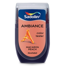 Эмульсионная краска Sadolin Tester, macaron peach, 0.03 л