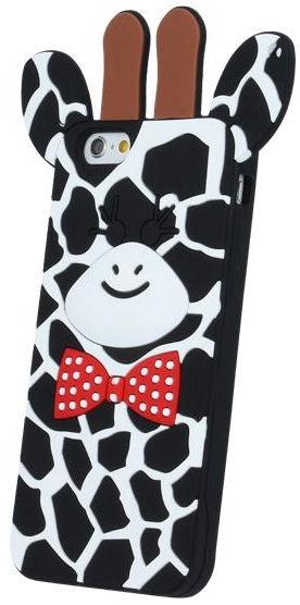 Mocco 3D Giraffe Back Case For Samsung Galaxy A5 A510F Black
