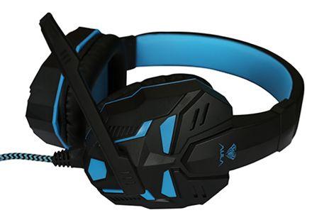 Игровые наушники Aula Prime, синий/черный