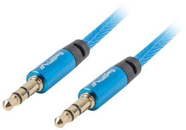 Lanberg Premium Audio Mini Jack Cable 3m Blue