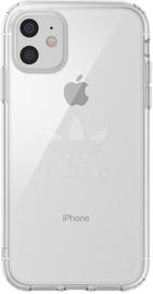 Adidas Protective Big Logo Back Case For Apple iPhone 11 Transparent
