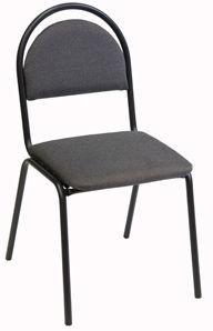 Apmeklētāju krēsls Verners Seven Gray 557071, 1 gab.