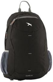 Туристический рюкзак Easy Camp Seattle Black 360142, черный, 18 л