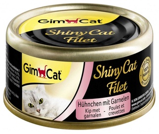 Gimborn ShinyCat Chicken & Shrimps 70g