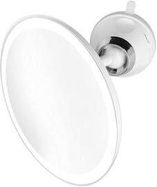 Kosmētiskais spogulis Medisana CM 850 White, ar gaismu, līmējams, 19x19 cm