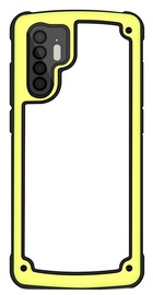 Hurtel Solid Frame With Bumper For Huawei P30 Pro Yellow