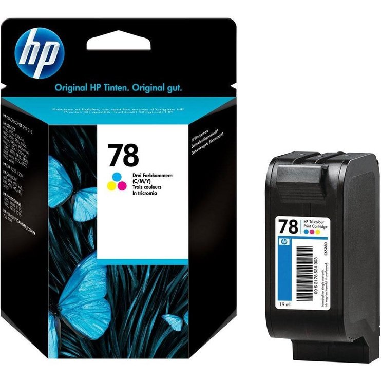 HP NO 78 Tri-Colour