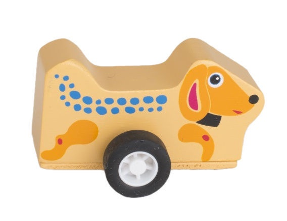 Oops Wooden Runinng Toy Easy Jet Dog