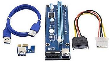 Gembird PCI-Express Riser Add-on card MOLEX Power