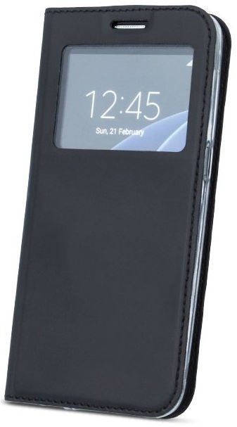 Mocco Smart Look Magnet Book Case For Huawei Mate 20 Pro Black