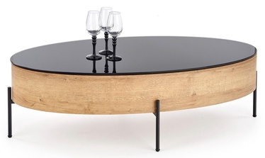 Halmar Coffee Table Zenga Golden Oak/Black