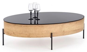 Halmar Coffee Table Zenga Golden Oak/Black