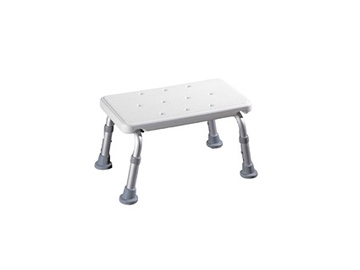 Ridder Footstool Adjustable White