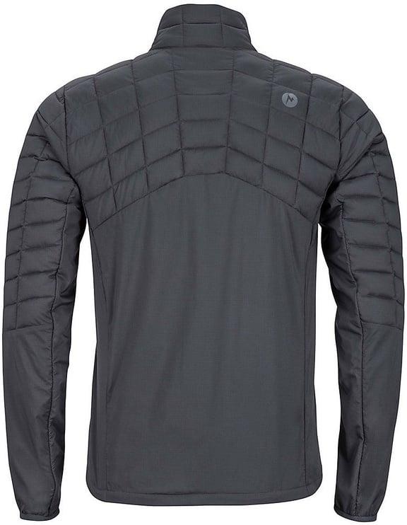 Vējjaka Marmot Mens Featherless Hybrid Jacket Black M