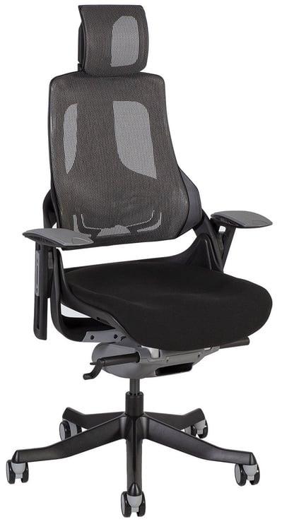 Офисный стул Home4you Wau Black/Grey