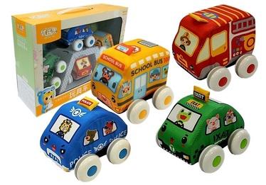 Детская машинка Soft Cars LN4323, многоцветный