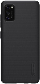 Nillkin Super Frosted Shield Back Case + Kickstand For Samsung Galaxy A41 Black