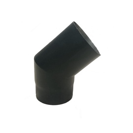 Колена для вытяжек Wadex, черный