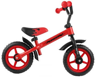 Velosipēds Milly Mally DRAGON Balance Bike Red 4850