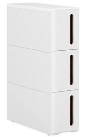 Шкаф Songmics, белый, 17x45x63 см