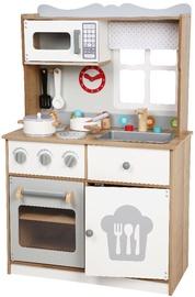 Lomu spēle Gerardos Toys Wooden Kitchen Scarlet