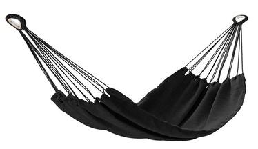 Šūpuļtīkls AmeliaHome Colada, melna, 240 cm