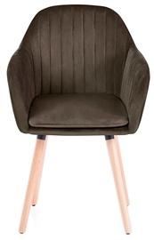 Ēdamistabas krēsls Homede Lacelle, brūna