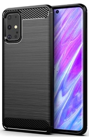 TakeMe Carbon Effect Back Case For Samsung Galaxy S20 Plus Black