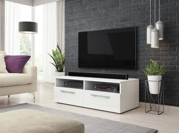 TV galds Vivaldi Meble Bonn, balta, 1000x460x350 mm