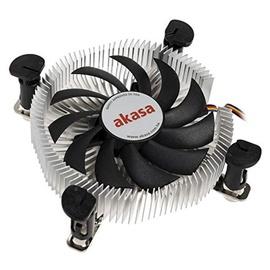 Akasa CPU Cooler Low Profile AK-CC7124EP01 74mm