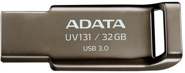 USB флеш-накопитель ADATA UV131 Grey, USB 3.0, 32 GB