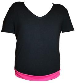 Bars Womens T-Shirt Black/Pink 18 170cm