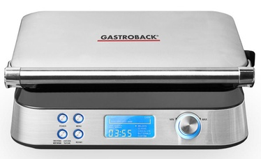 Gastroback Waffle Iron Advanced Control 42424 Silver