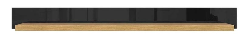 Black Red White Arosa Shelf Baltic Oak/Black Gloss