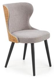 Ēdamistabas krēsls Halmar K452, pelēka/ozola