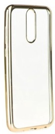 Mocco Electro Jelly Back Case For Huawei P10 Lite Gold/Transparent