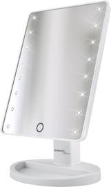 Kosmētiskais spogulis Scarlett SC-MM308L01 White, ar gaismu, stāvošs, 20x28 cm